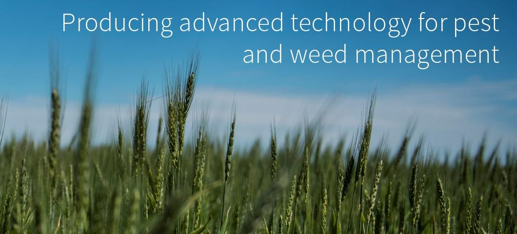 Producing advanced technology for pest and weed management