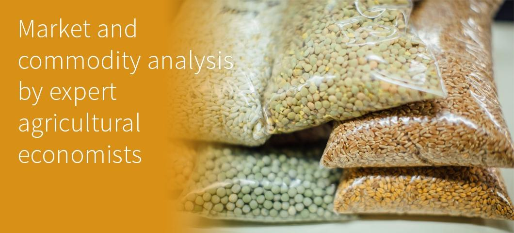 Market and commodity analysis by expert agricultural economists
