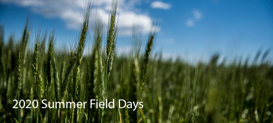 List of field days at the MAES research centers.